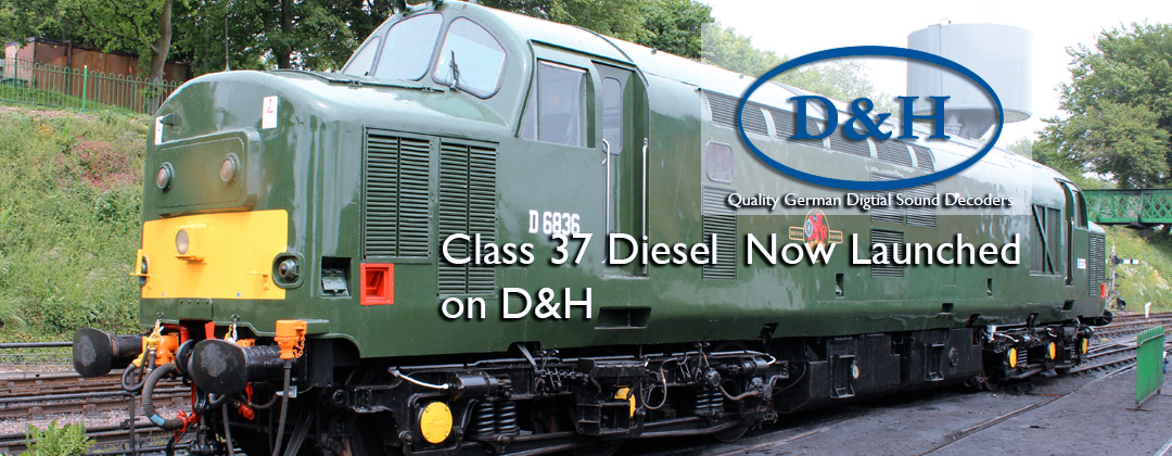 sound decoder class37 deisel Now launched