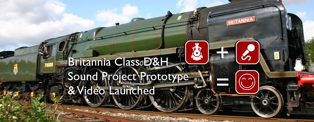 Britannia Class Decoder DCC Sound
