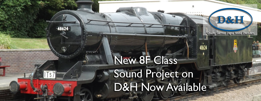 8F Class Sound Decoder DCC