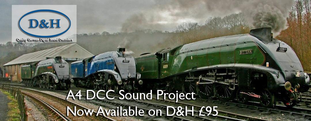 A4 Class Sound Decoder DCC